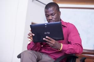 The rLG Uhuru Tablet PC