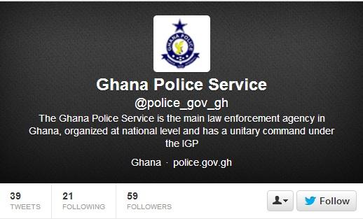 Ghana Police jumps on social media