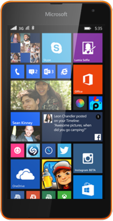 The Lumia 535