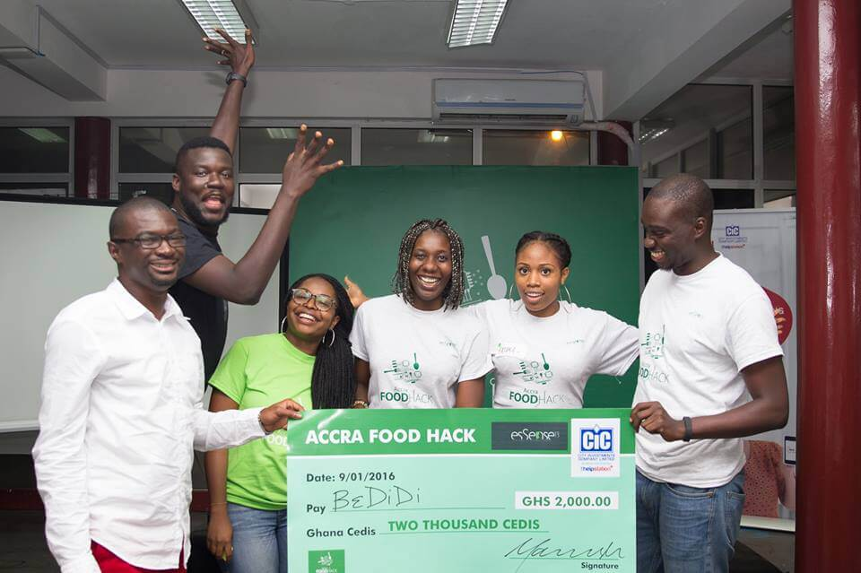 Bedidi wins the 1st Accra Food Hack